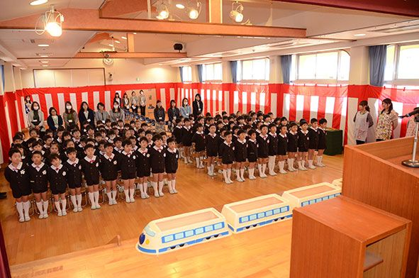 卒園式総合リハーサル
