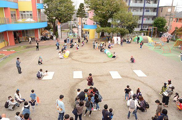 親子登園・ミニ運動会