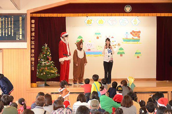 親子登園・クリスマス会