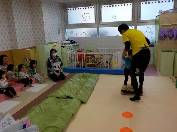 うさぎ組の体育指導☆