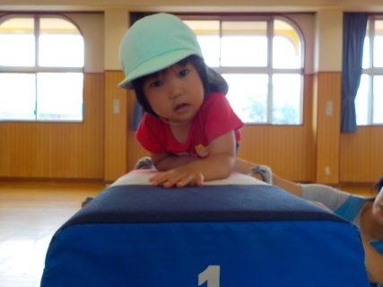 幼稚園のホールは楽しい物がい~っぱい!