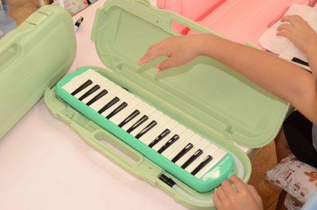 鍵盤ハーモニカ!