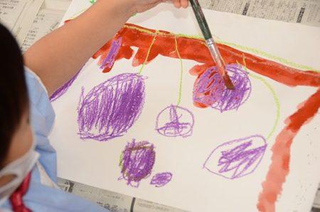 サツマイモの絵を描こう!